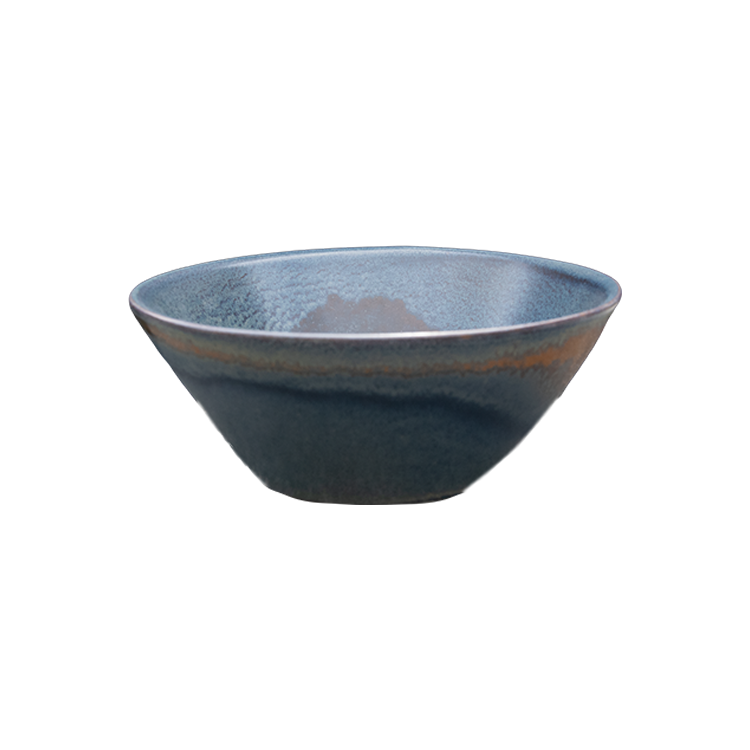 Flaired bowl Rust Dark