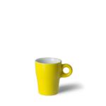 Espressokop Gino 8 cl hoog Geel