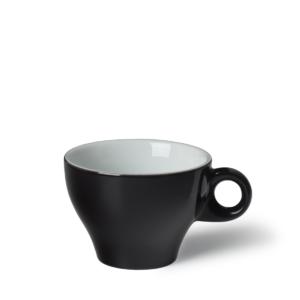 Cappuccinokop Gino 25 cl Zwart