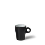 Espressokop Gino 8 cl hoog Zwart
