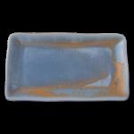 Schaal rechthoekig Rust blue