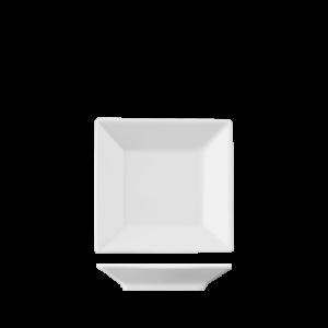 Bord Vierkant vlak 9 cm