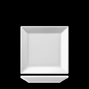 Bord Vierkant vlak 13 cm