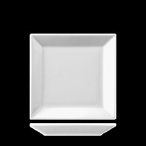Bord Vierkant vlak 15 cm