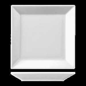 Bord Vierkant vlak 32 cm