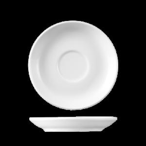 Schotel GINO 12 cm rond Wit