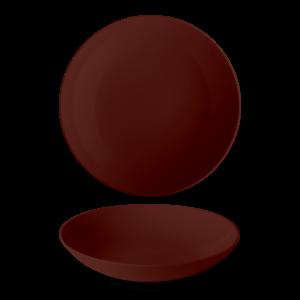 Bord diep 26 cm Brown