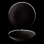Bord diep 26 cm Black