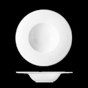 Bord diep met brede rand 27 cm