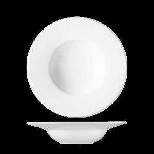 Bord diep met brede rand 29 cm