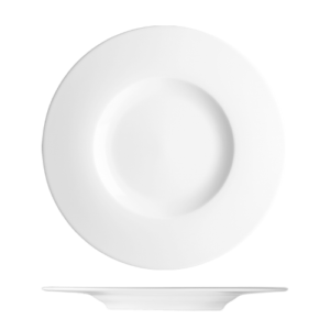 Bord vlak met brede rand 29 cm