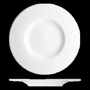 Bord vlak met brede rand 33 cm