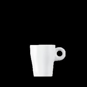 Espressokopje GINO hoog 8 cl Wit