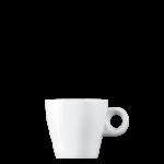 Koffiekop GINO laag 18 cl Wit