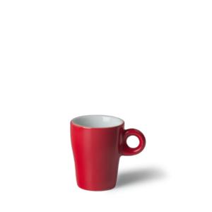 Espressokop Gino 8 cl hoog Rood