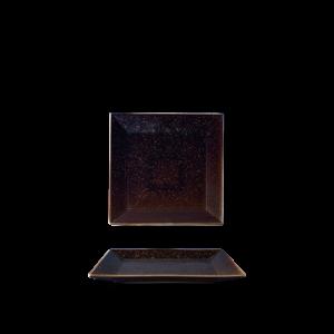 Bord plat vierkant 15 cm